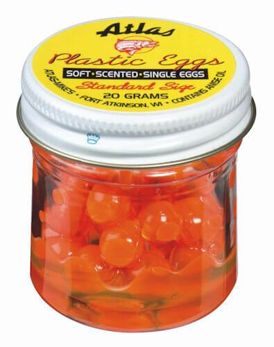 Atlas Plastic Eggs - Orange