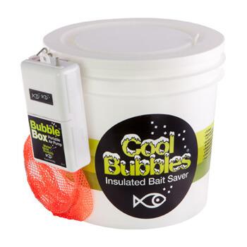 Cool Bubbles Insulated Bait Saver - 8 Quart