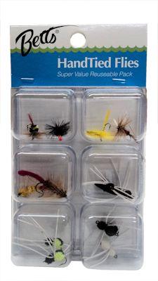 Betts Hand Tied Flies: 3-Pack