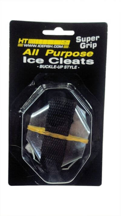 Ht All Purpose Ice Cleats - Buckle-Up Style: 3-Pack
