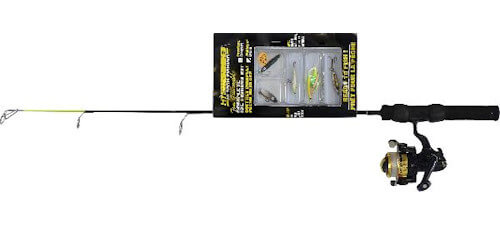 "HT Enterprises 24"" Iceman Walleye Rod Combo Kit"