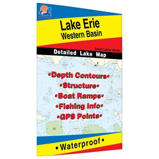 Lake Erie (Western Basin) Map