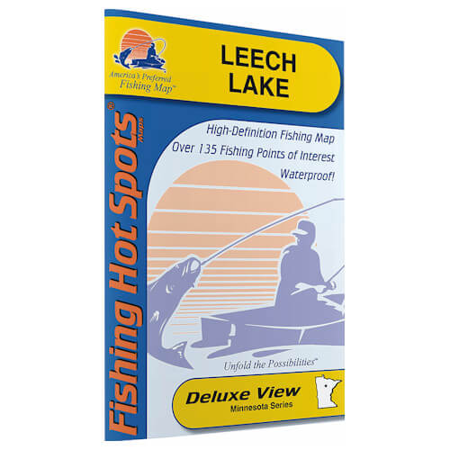 Leech Lake Map