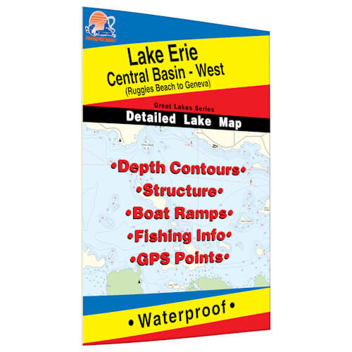 Lake Erie (Central Basin West) Map