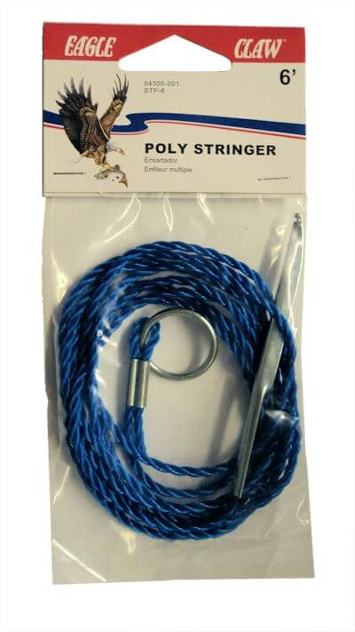 Eagle Claw 6' Poly Stringer: 12-Pack