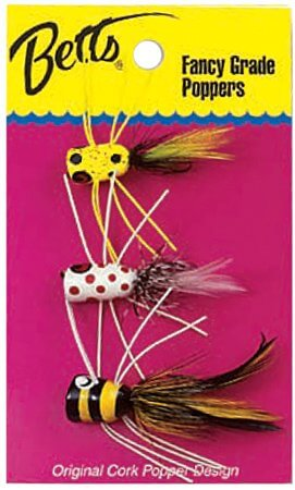 Betts Panfish Poppers: 4-Pack