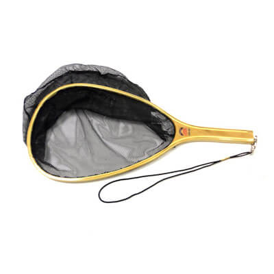 Catch & Release Wood Handle Trout Net