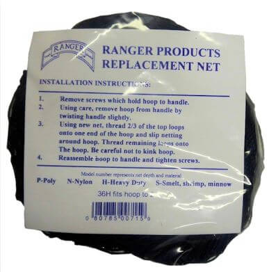 "36"" Ranger Heavy Duty Replacement Net"