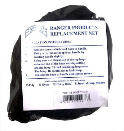 72 Ranger Heavy Duty Replacement Net