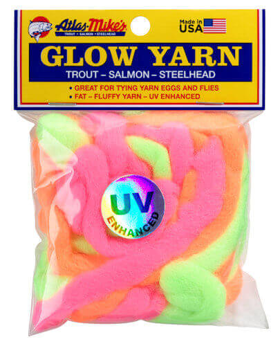 Atlas Assorted UV Glow Yarn
