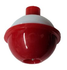Red/White Packaged Bobbers - 3/4 inch