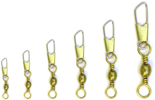 Eagle Claw Brass Snap Swivels