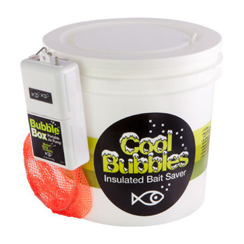 Cool Bubbles Insulated Bait Saver - 8 Quart