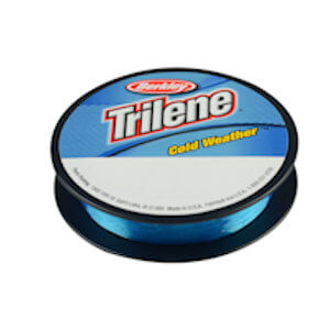 Berkley Trilene Cold Weather Fishing Line - Electric Blue