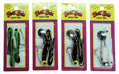 1/8 Oz Split Tail - Assorted 4-Pack