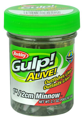 Berkley Gulp Alive Minnows