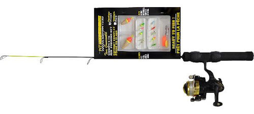 HT Enterprises 24 Iceman Panfish Rod Combo Kit