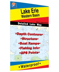 Lake Erie (Western Basin) Map