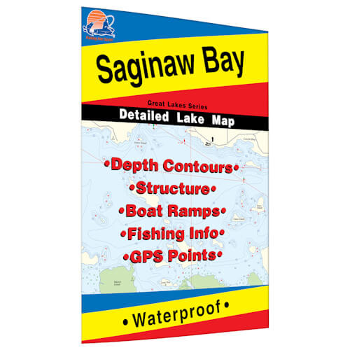 Saginaw Bay Map