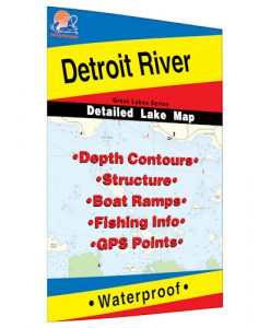 Detroit River Map