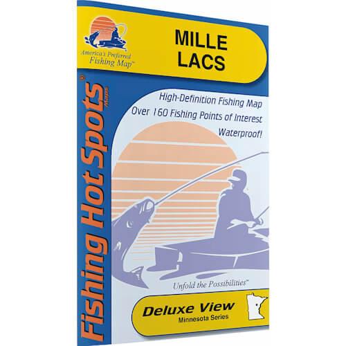 Mille Lacs Lake Map