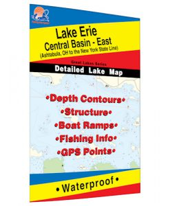 Lake Erie (Central Basin East) Map