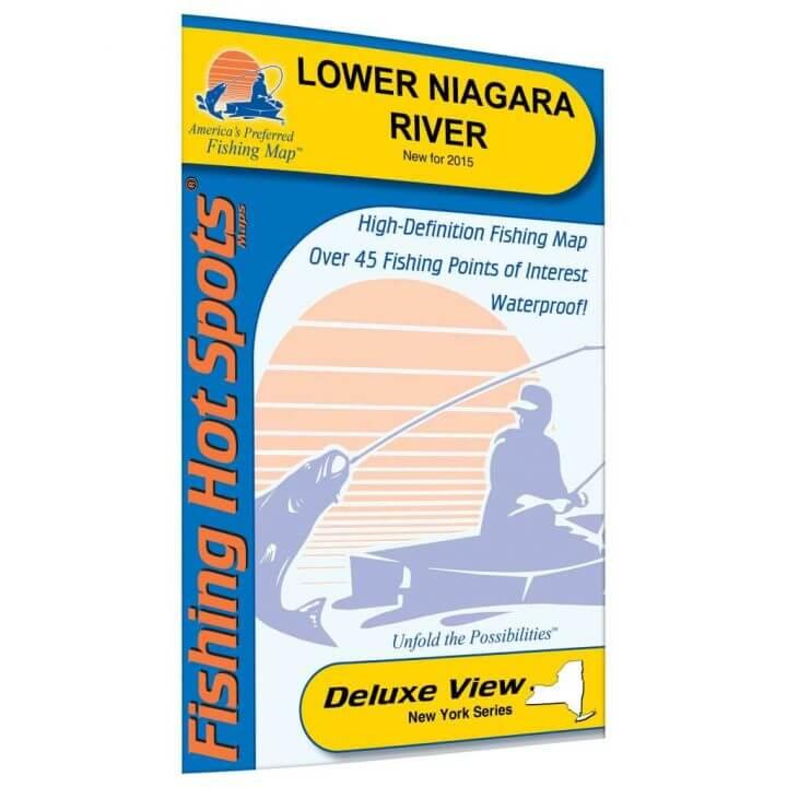 Lower Niagara River Map