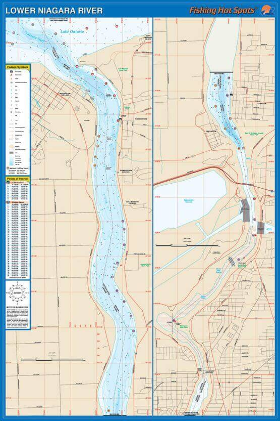 Lower Niagara River Map
