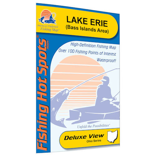 Lake Erie (Bass Islands Area) Map