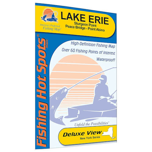 Lake Erie (Sturgeon Point, Ny - Peace Bridge - Point Abino) Map