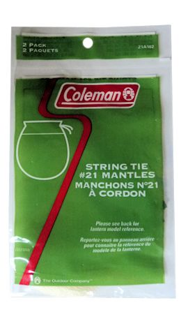 Coleman String Tie #21 Mantles