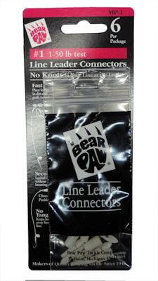 Line Leader Connectors: 1-50Lb Test