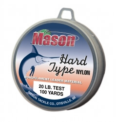 Mason Hard Type Nylon Fishing Line