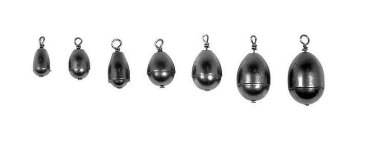 Steel Bell Sinkers: 2-Pack
