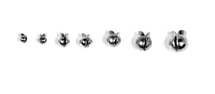 Tin Removable Split Shot Sinkers: 2-Pack