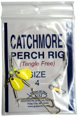 Perch Rig - Chartreuse