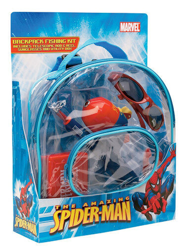 Spiderman Backpack Kit Combo