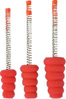 Slab Stopper Spring Bobbers: 2 Packs