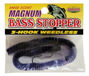 Weedless Magnum Bass Stopper